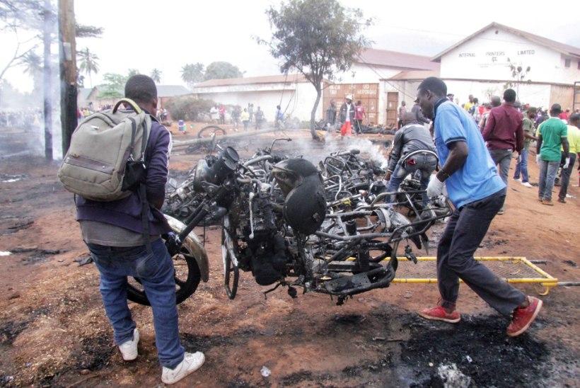 Nädalavahetusel hukkus Tansaanias naftaveoki plahvatuses üle 70 inimese