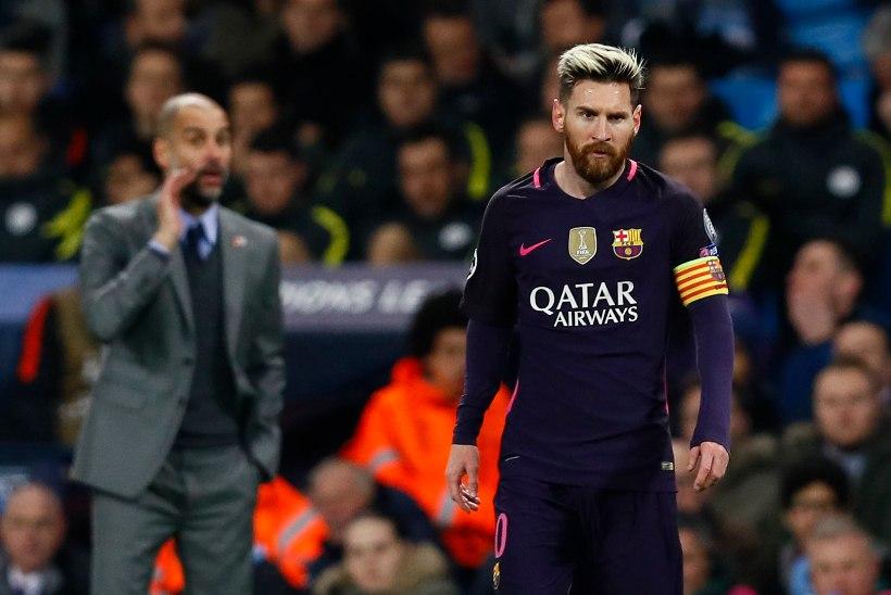 Inglismaa jalgpalliekspert: Messi ei pruugi Manchester City koosseisugi mahtuda