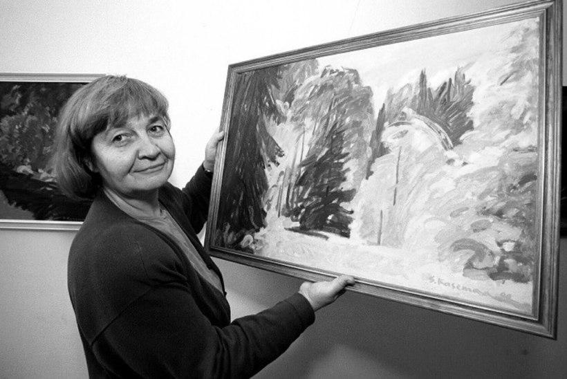 Suri maalikunstnik Saskia Kasemaa