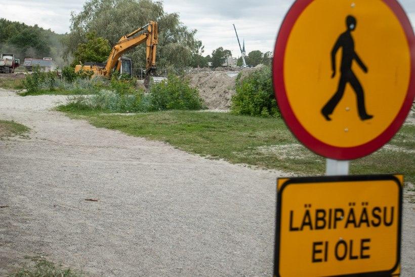 Rakvere elanikud lähevad vigase tee-ehituse pärast linna vastu kohtusse