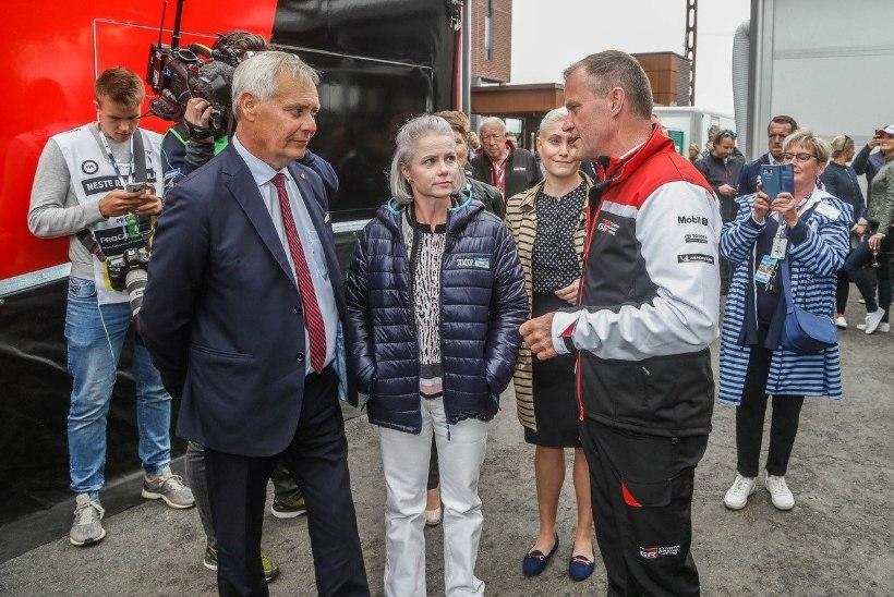UHKE TUNNUSTUS! Soome peaminister kiitis Tommi Mäkineni ja Toyotat