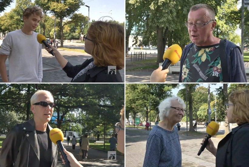 ÕL TÄNAVAKÜSITLUS | Mida arvab rahvas pensionireformidest?