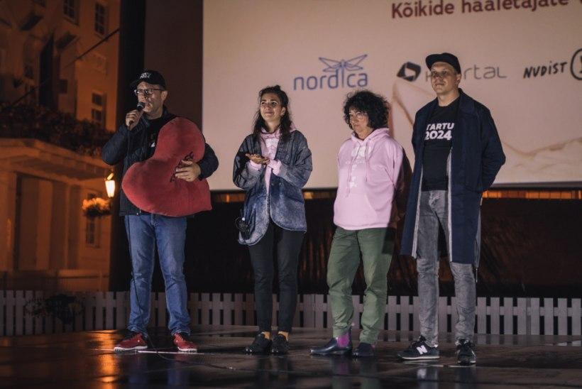 GALERII | Vihma kiuste! Tartus algas armastusfilmide festival