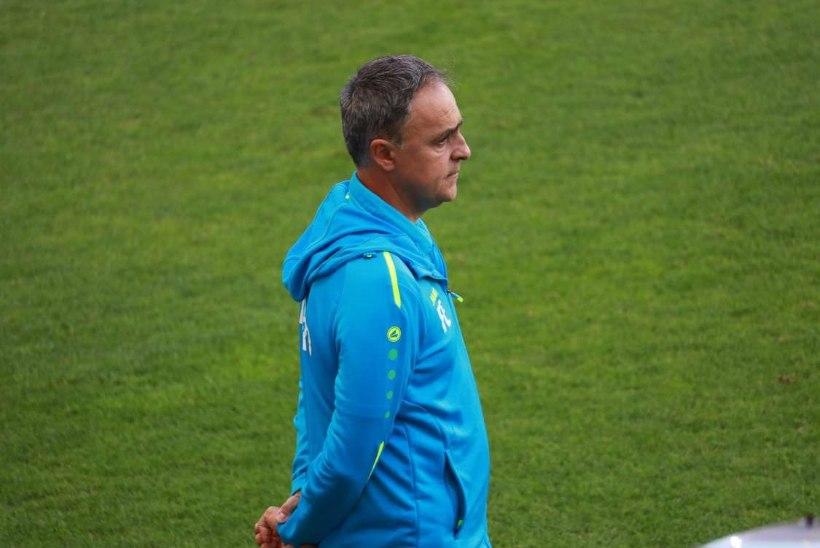 Dudelange'i peatreener: kogu austuse juures Kalju vastu, me olime paremad