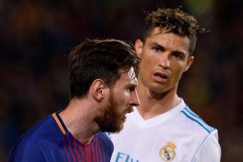Ronaldo nimetas peamise põhjuse, miks ta Messist parem on
