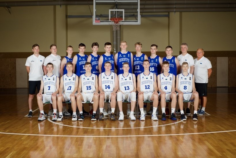 Eesti U16 korvpallikoondise koht A-divisjonis ripub juuksekarva otsas