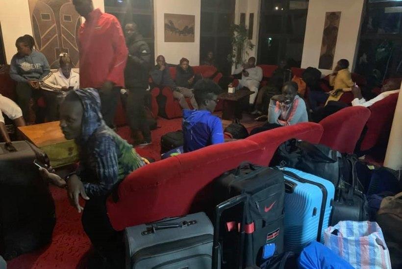 KENTSAKAS JUHTUM: Keenia tippsportlased visati hotellist välja