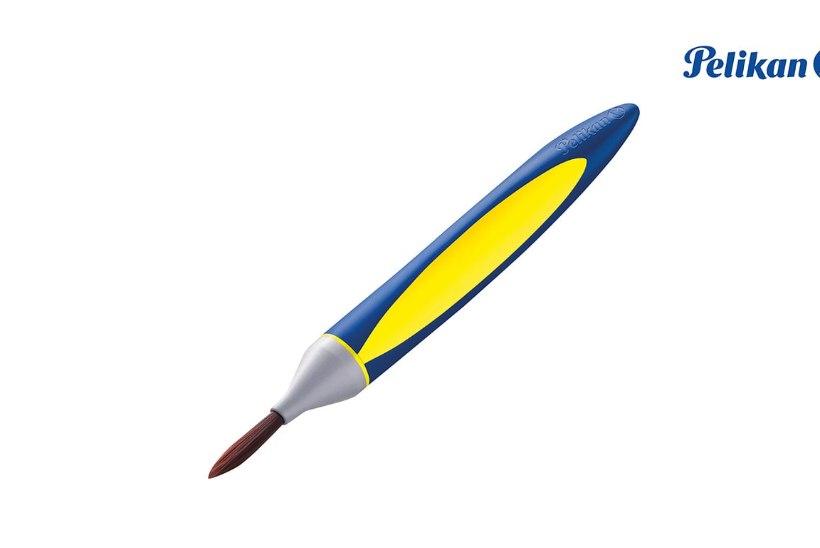 Maailma esimene ergonoomiline pintsel harjutab last ka kirjutama