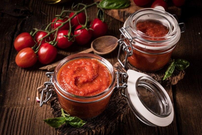 Tomatiketšup õunte ja selleriga