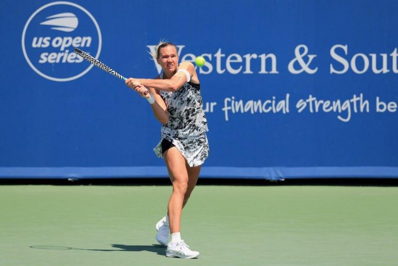 Kaia Kanepi alustas US Openi soojendusturniiri edukalt