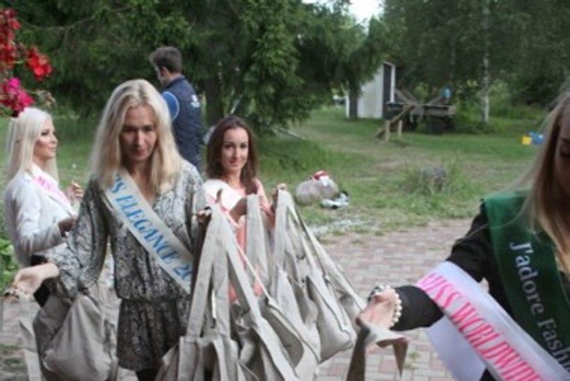 GALERII | Missised ja iluduskuningannad eesotsas Tiina Jantsoniga käisid külas laste ja noorte leinalaagris