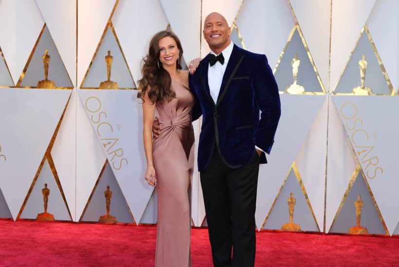 "Dwayne ""The Rock"" Johnson pidas pulmi"