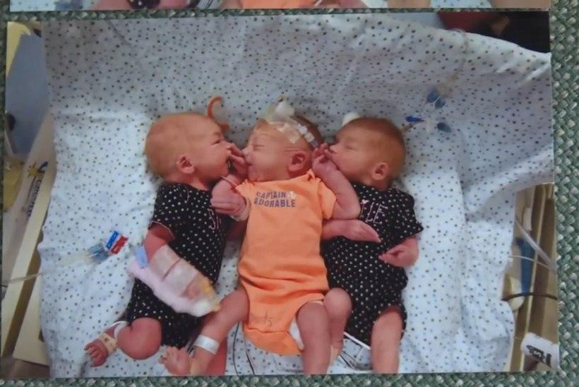 ÜLLATUS: neerukivide kartuses haiglasse rutanud naine sünnitas hoopis kolmikud