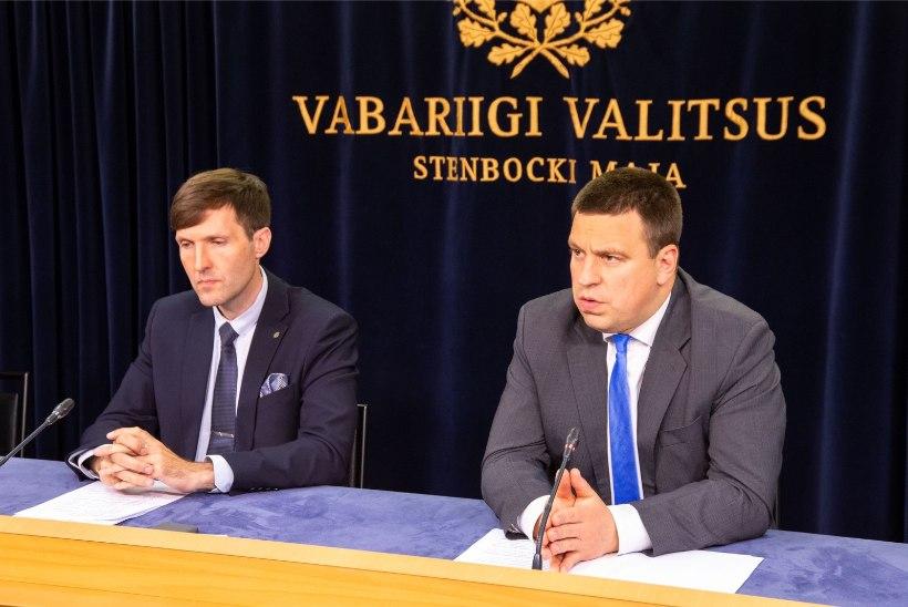 """Peaministri büroo: kokkusaamise kohavalik lasi Mart Helmel enne peaministriga kohtumist """"marineerida"""""""