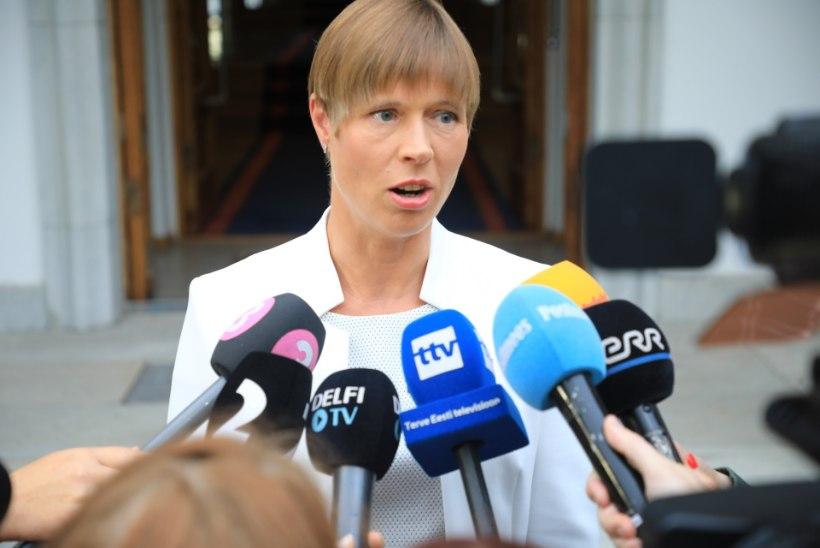 VIDEO JA FOTOD | Kersti Kaljulaid: Elmar Vaherit ebaseaduslikult kukutada üritanud Martin Helme ei sobi ministriks
