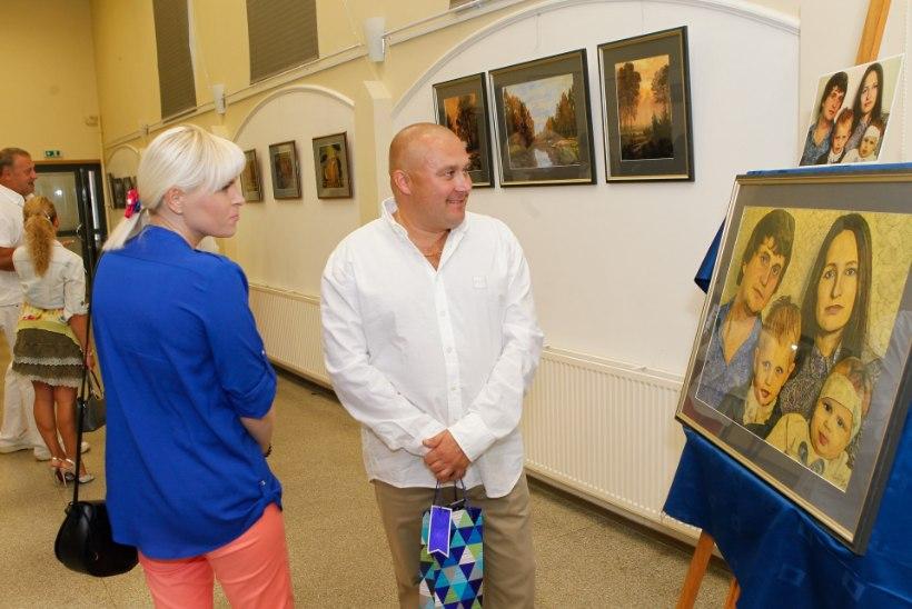 GALERII | Kunstnik ja endine allilmaliider Nikolai Bleskov avas uue näituse