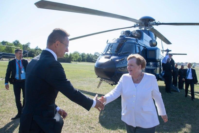 KIITUS UNGARILE: Merkel tähistas koos Orbaniga 30 aasta möödumist raudse eesriide langemisest