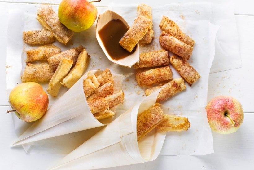 Õunaaeg: vaata, kuidas teha mõnusaid õunapiruka-friikaid