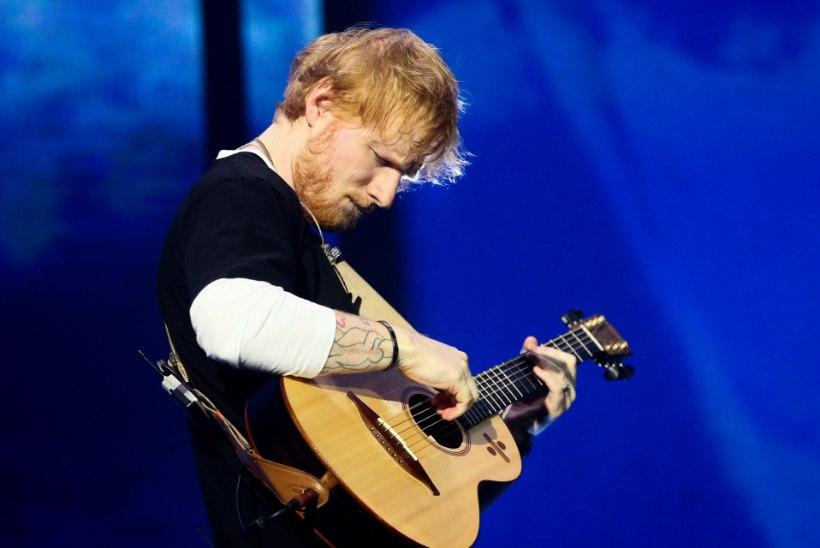 SÜDAMEVALU: Ed Sheerani lemmik jäi auto alla