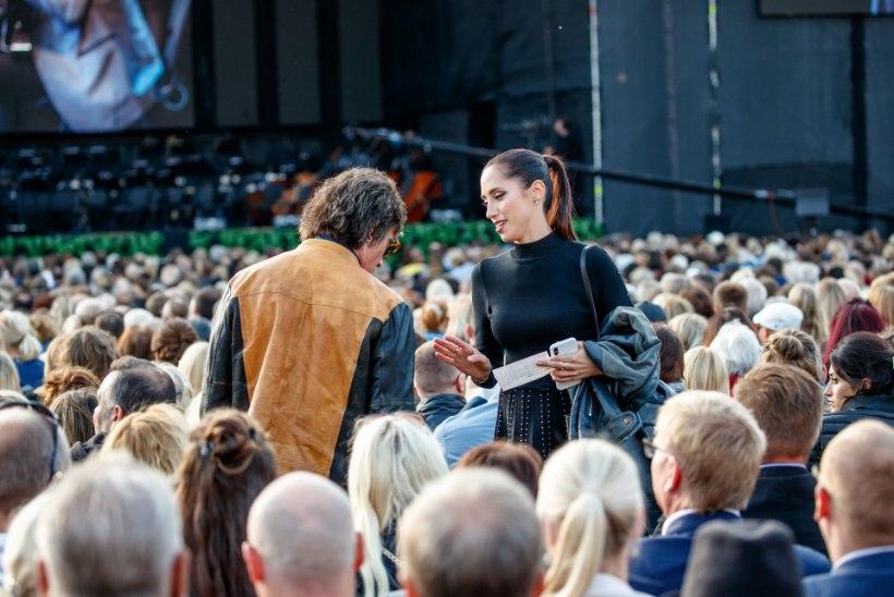 FOTOD | Elina Nechayeva saabus Andrea Bocelli kontserdile Ronn Mossiga