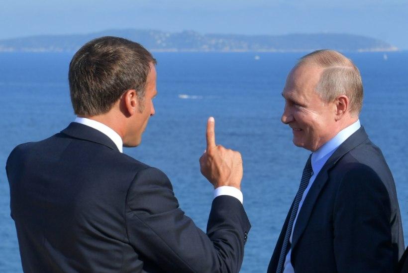 UKRAINA KRIIS: Macron ja Putin panustavad jätkuvalt Normandia nelikule