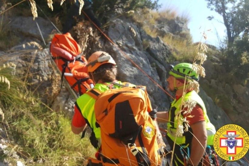 TRAGÖÖDIA LÕUNA-ITAALIAS: kaljult alla kukkunud matkaja leiti surnult