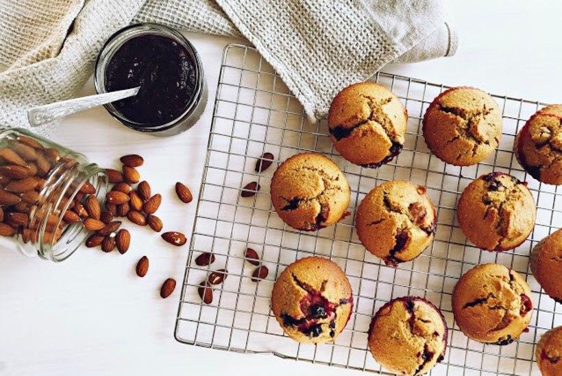 BLOGI | Gluteenivaba ahvatlus: mandlised marjamuffinid