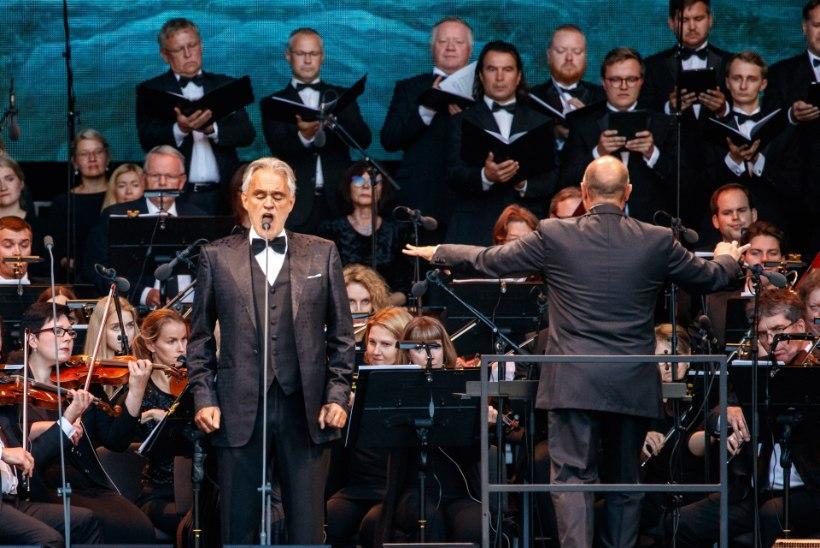 GALERII | Andrea Bocelli andis Tallinna lauluväljakul kontserdi