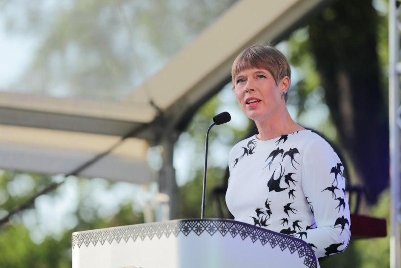 Kersti Kaljulaid: isegi kui käega kärbsepesa ei tee, võib suuga tehtud suure linna mõju olla märkimisväärne