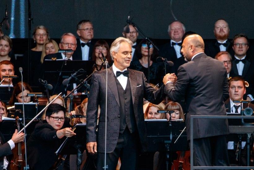Andrea Bocelli fännid annetasid vähiravifondile üle 3000 euro