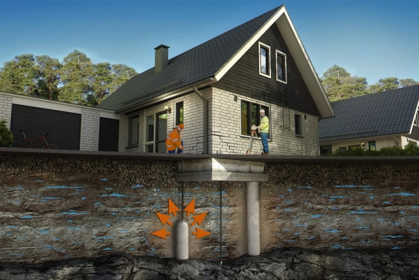 Levinud müüt: viltu vajunud hoone tõstmine on kallis ja aeganõudev?
