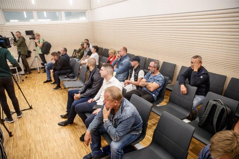 FOTOD KOHTUST | Haron Dikajev mõisteti süüdi kuritegeliku ühenduse juhtimises