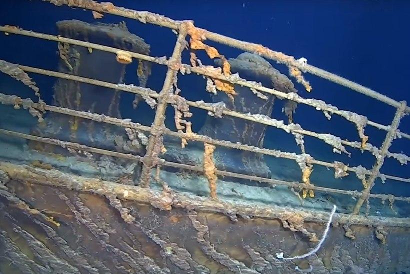 VIDEO | UURIJAD: Titanicu vrakk hävib kiiresti