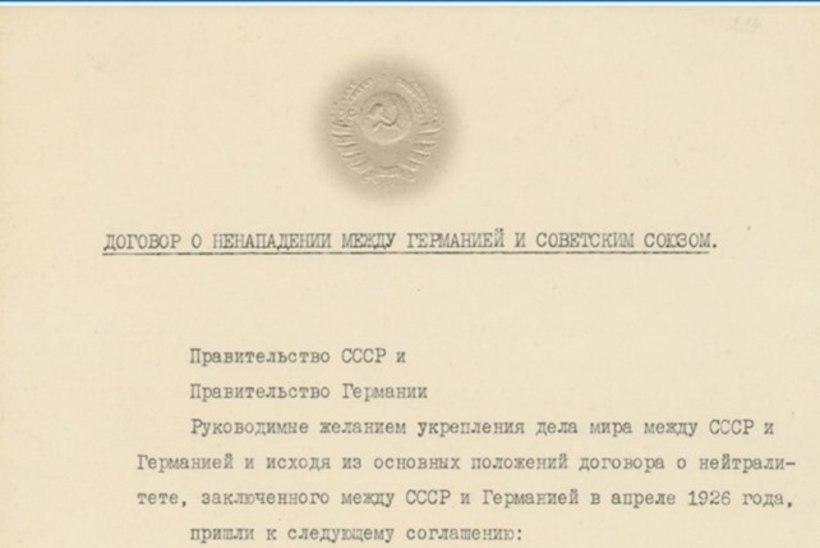 Vene propagandamasin vannub: MRP sunniti NSVLile peale ja see aitas sakslasi alistada