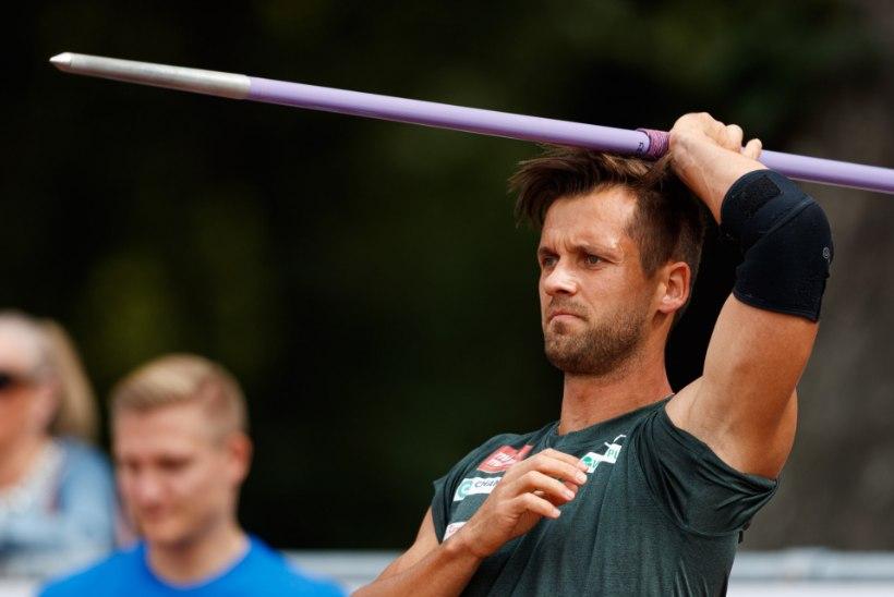 Suur kergejõustik Pärnu Rannastaadionil: Magnus Kirt vs. odaviske maailmameister