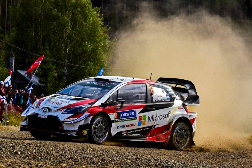FOTO | Toyota tuli FIAle vastu ja tegi Saksamaa ralli eel masina juures muudatuse