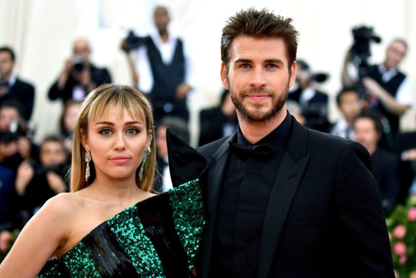 Miley Cyrus on pettunud, et tema mees lahutuse sisse andis