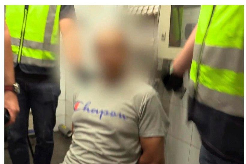 555 OHVRIT: Madridis tabati teolt naisi seeliku alt filminud pervert