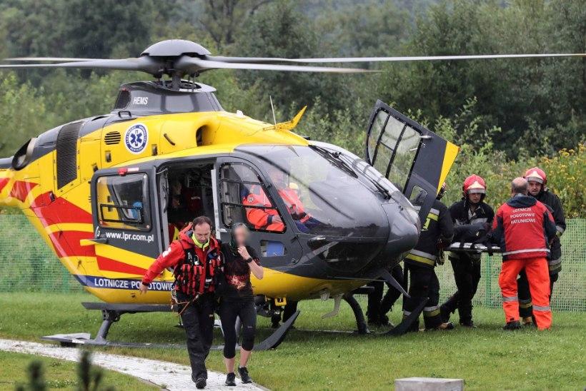 TRAGÖÖDIA: Tatra mägedes hukkus äikesetormis viis inimest