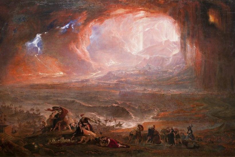 MINEVIKUHETK | 24. august: Vesuuvi vulkaanipurse mattis Pompei tuha alla