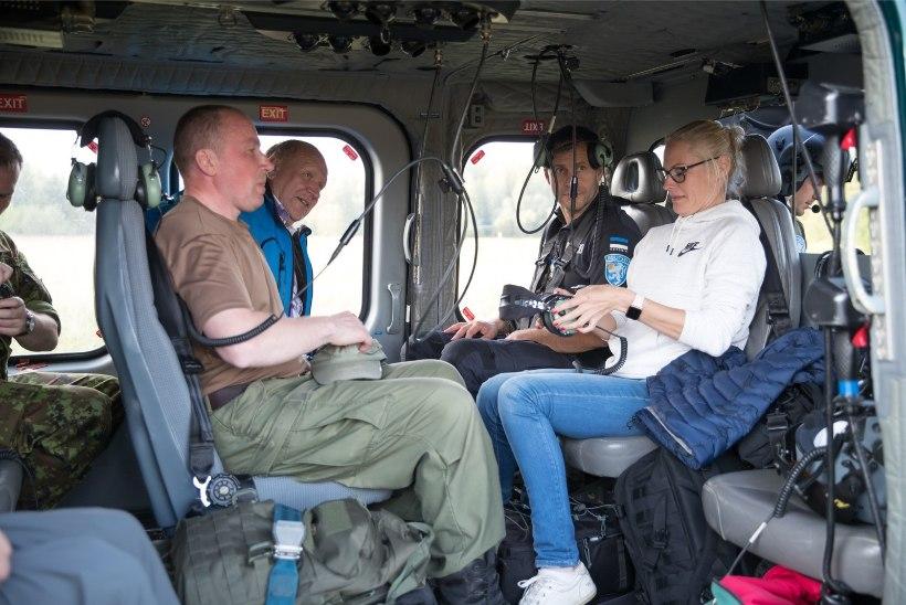 FOTOD | Helme pärast Vaheriga tehtud külastust riigipiirile: ehitame odava tara