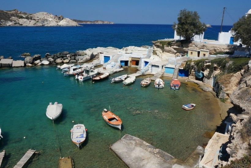 Kreeka kalurid saavad palka prügi püüdmise eest