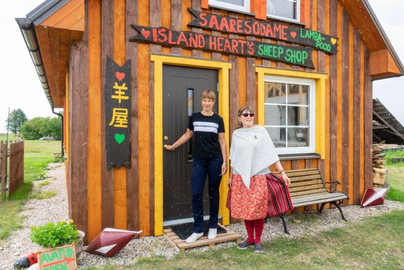 FOTO   Kersti Kaljulaid kandis taas sõnumiga särki