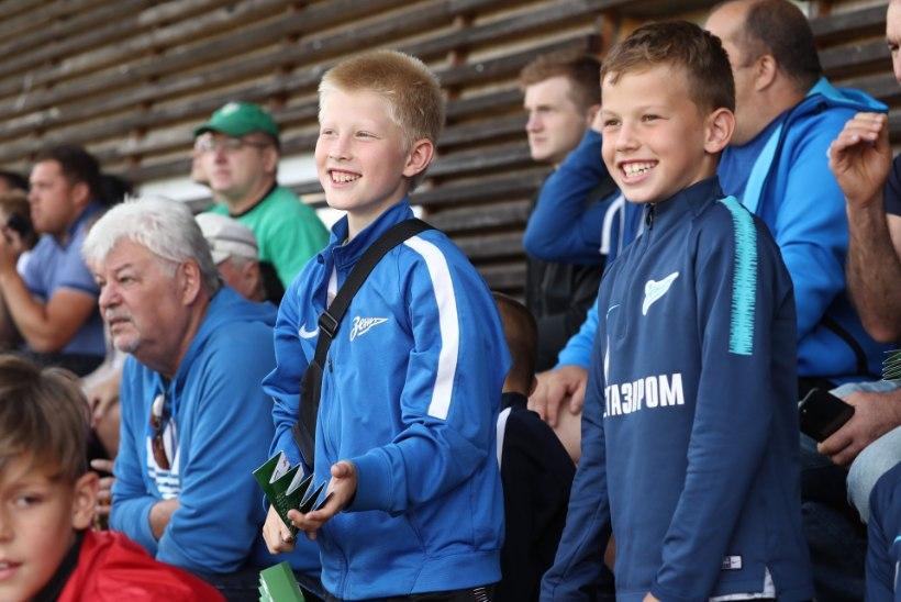 GALERII | Nõmme Kalju tegi FC Florale kingituse