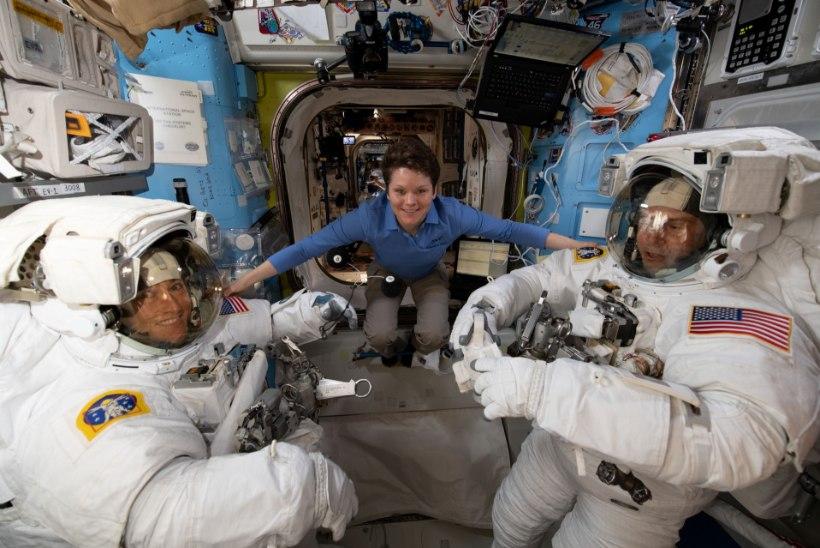 ULMELINE KURITEGU: NASA uurib, kas astronaut saatis korda esimese planeedivälise pättuse!
