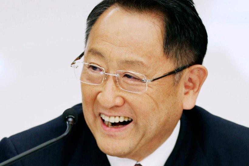 Toyota presidendi lõbus õnnitlusvideo: ma ei suutnud viimast katset vaadata