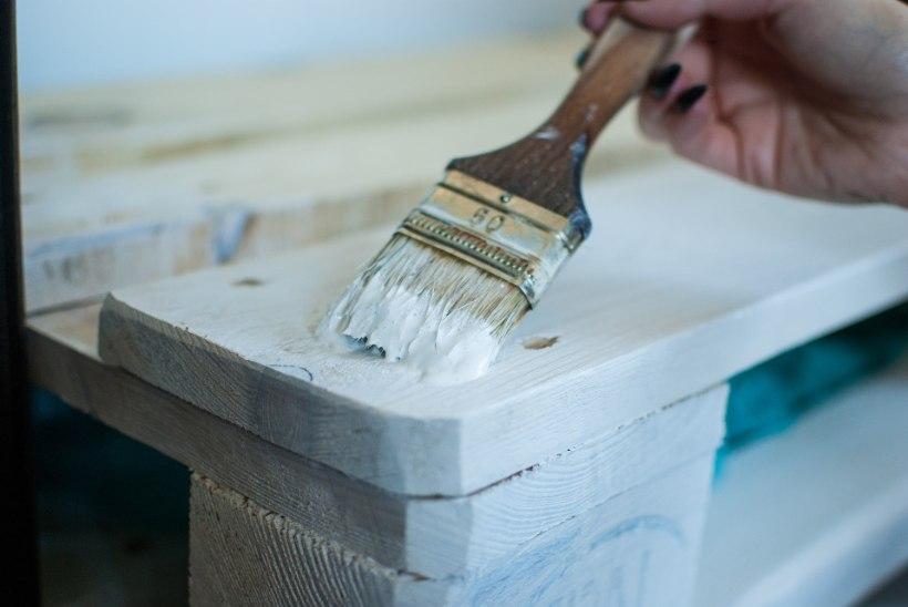 Tee ise vana puitkapp uueks ja moodsaks!
