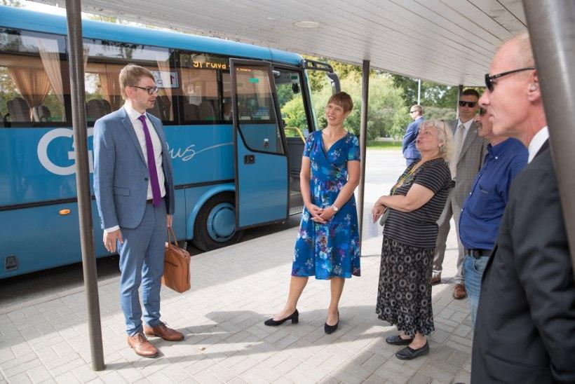 President Kaljulaid näeb edasiminekut, Räpina rahvas mitte