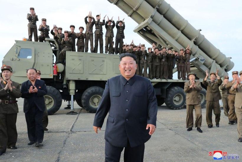 Jaapani kaitseminister: Põhja-Korea uued lõhkepead võivad tungida läbi raketitõrjekilbi