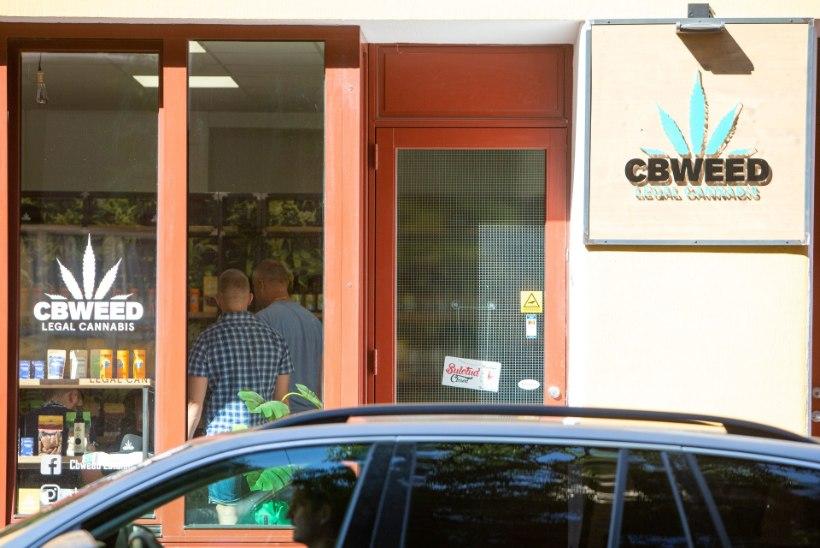 FOTOD | Politsei otsis läbi Eesti kanepipoed, kahtlustatakse narkootikumide müüki